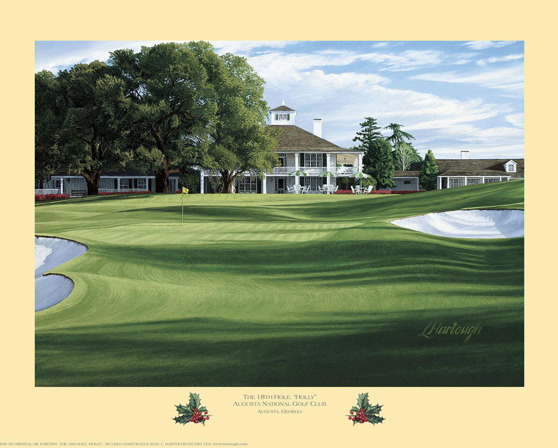 Open Edition - The 18th Hole, 'Holly', Augusta National Golf Club
