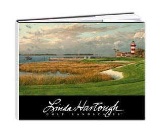 Linda Hartough Golf Landcapes Portfolio Book