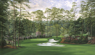The 10th Hole, 'Camellia', Augusta National Golf Club, 1994