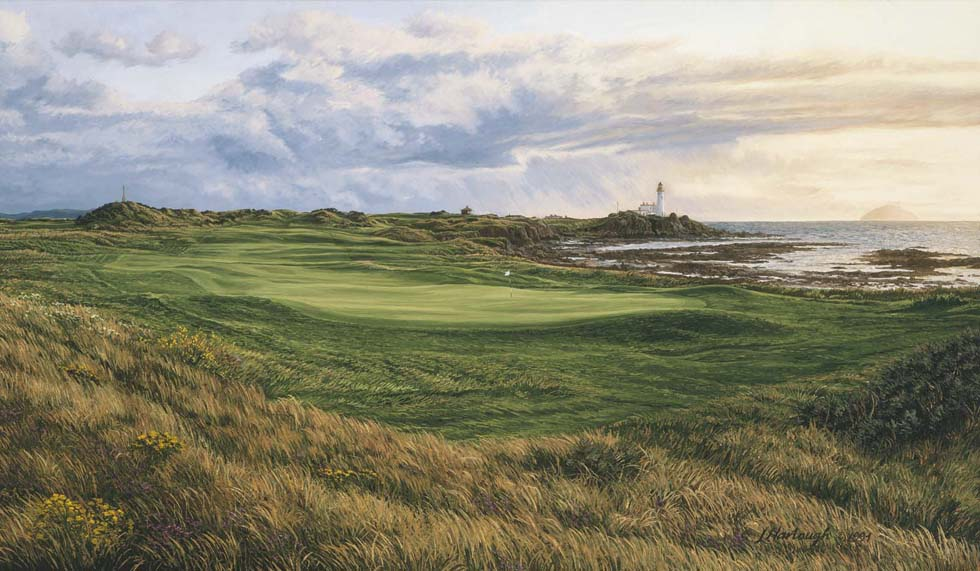 10th Hole, Turnberry, Dinna Fouter - Open Edition