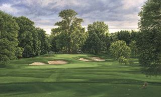 10th Hole, Winged Foot Golf Club, West Course