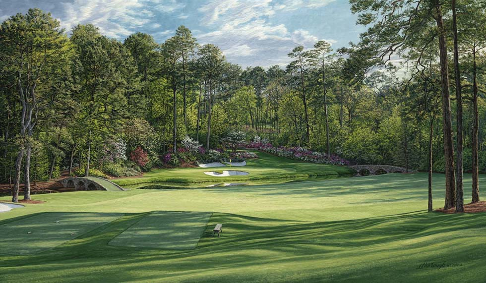 "12th Hole, ""Golden Bell,"" Augusta National Golf Club 2002"