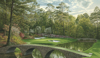 The 12th Hole, 'Golden Bell',  Augusta National Golf Club, 2008