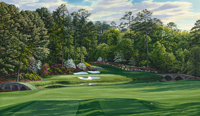 "12th Hole, ""Golden Bell,"" Augusta National"