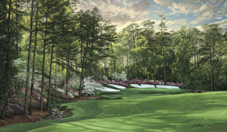 "13th Hole, ""Azalea,"" Augusta National"