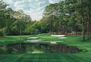 "16th Hole, ""Red Bud,"" Augusta National"