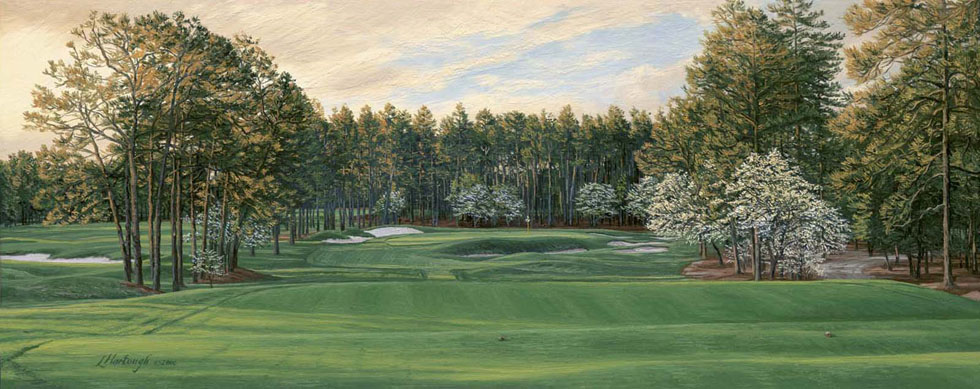 17th Hole, No 2, Pinehurst Resort and Golf Club - Open Edition