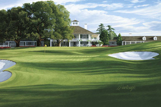 The 18th Hole, 'Holly', Augusta National Golf Club, 1988