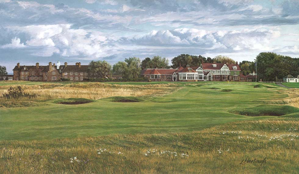 18th Hole, Muirfield, 1992