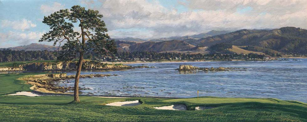 18th Hole, Pebble Beach - Open Edition