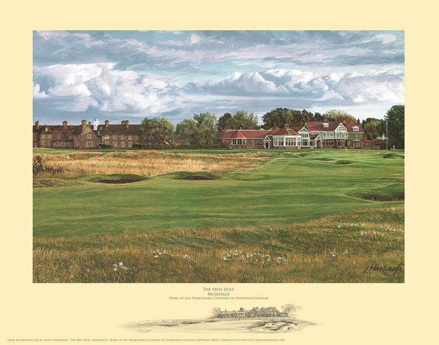 18th Hole Muirfield - Open Edition