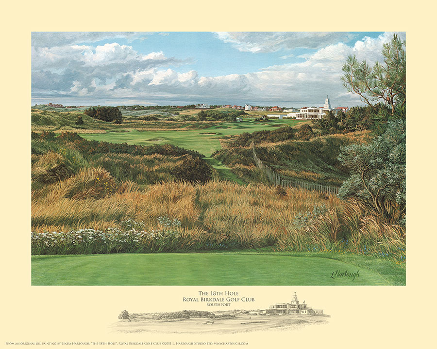 18th Hole Royal Birkdale - Open Edition