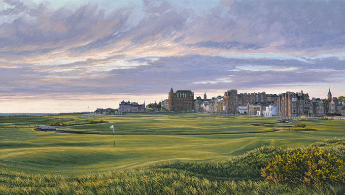 The 1st Hole, St Andrews - 376 Yards - Par 4