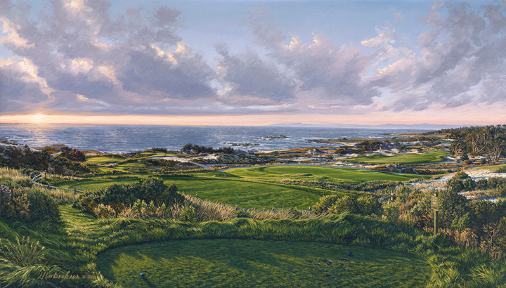 3rd Hole, Spyglass Hill Golf Course