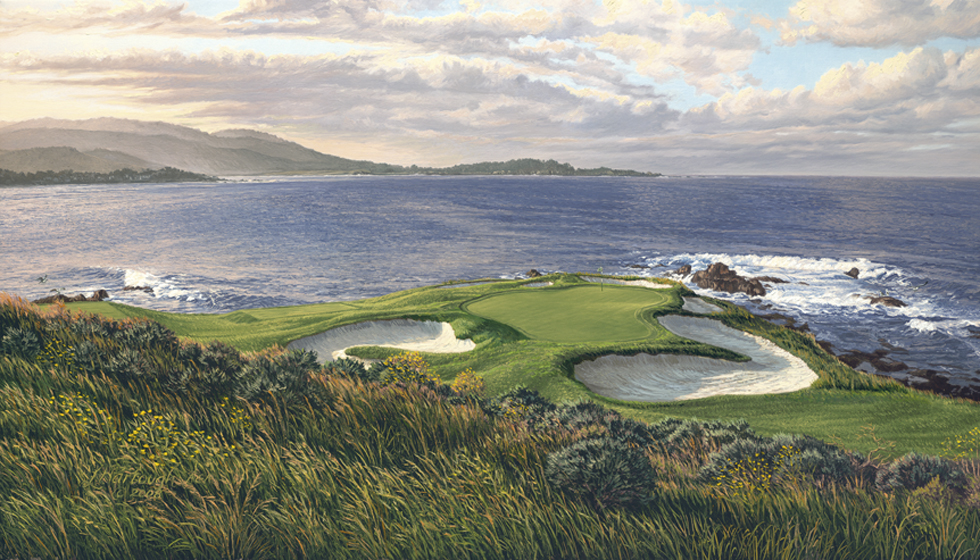 7th Hole Pebble Beach 2010