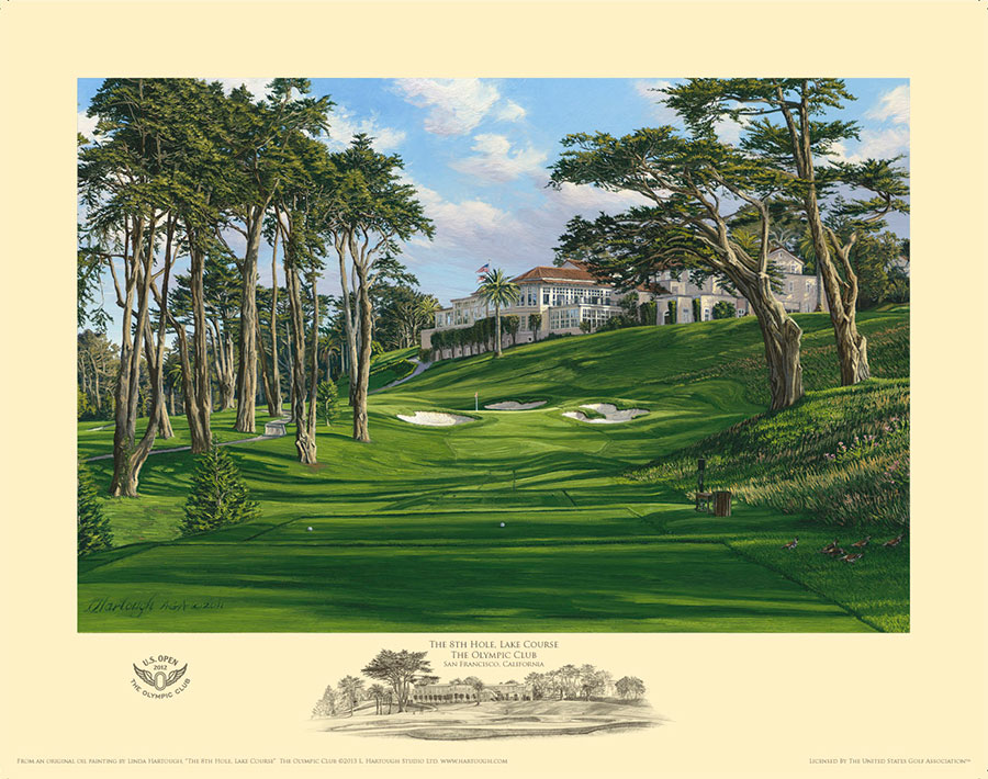 8th Hole, Olympic Club - Open Edition