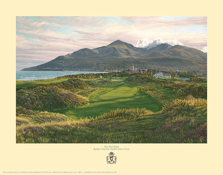 9th Hole, Royal County Down - Open Edition
