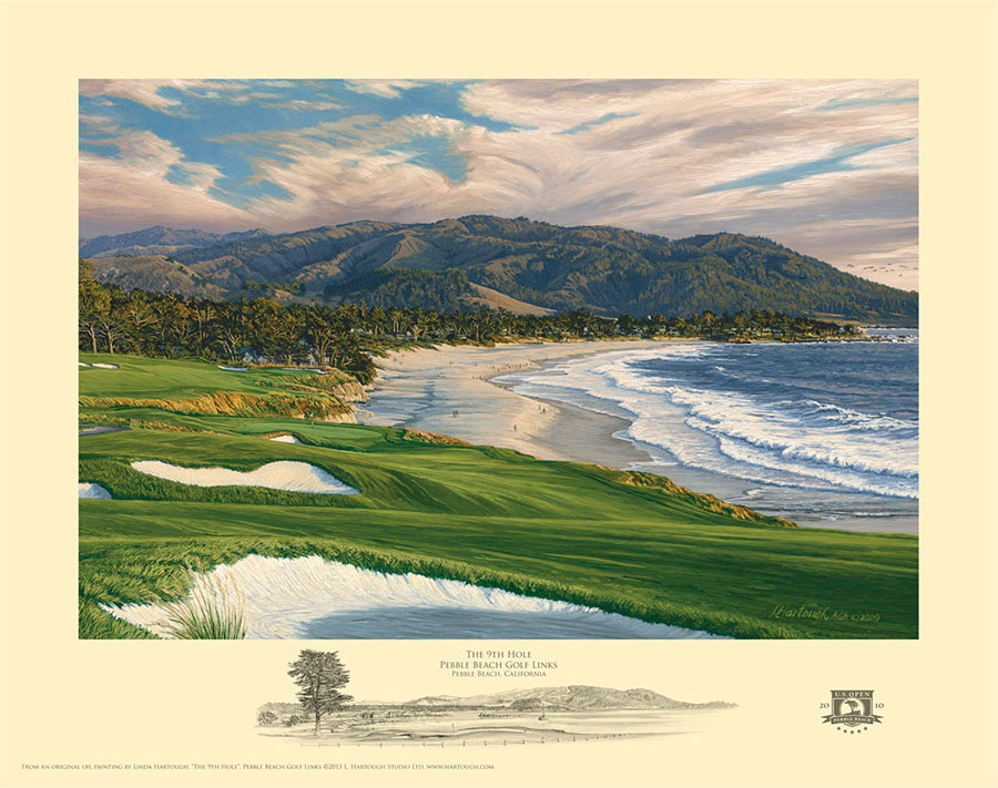 9th Hole, Pebble Beach - Open Edition