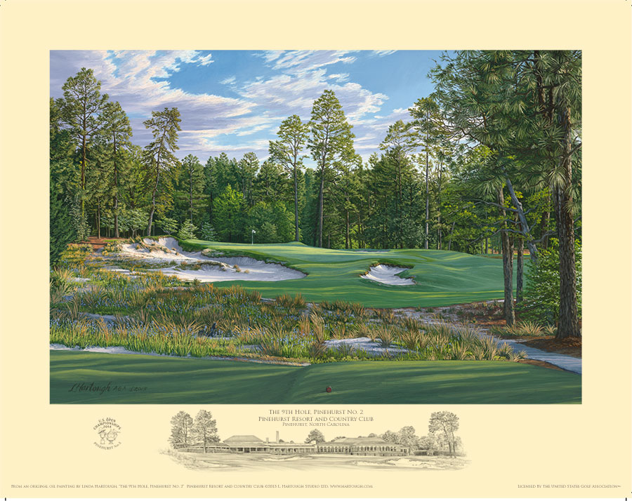 9th Hole, Pinehurst No. 2 - Open Edition