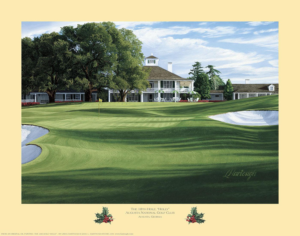 18th Hole, 'Holly', Augusta National Golf Club - Open Edition
