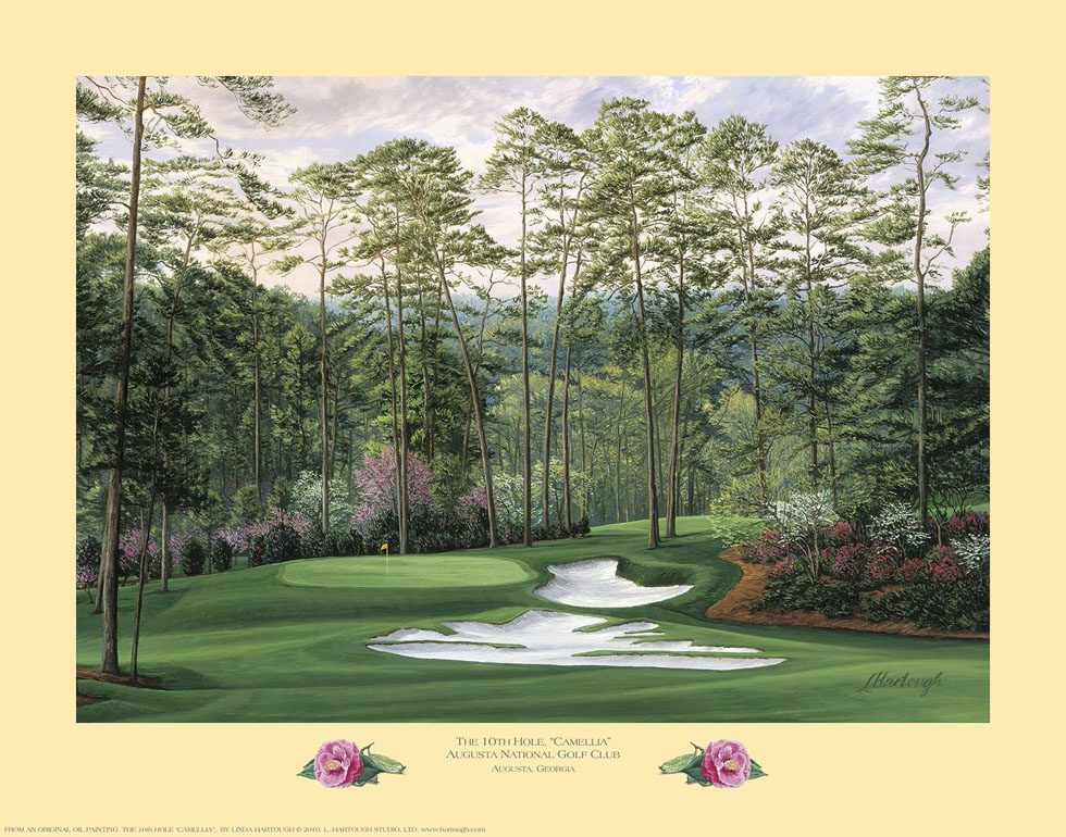 10th Hole, 'Camellia', Augusta National Golf Club - Open Edition