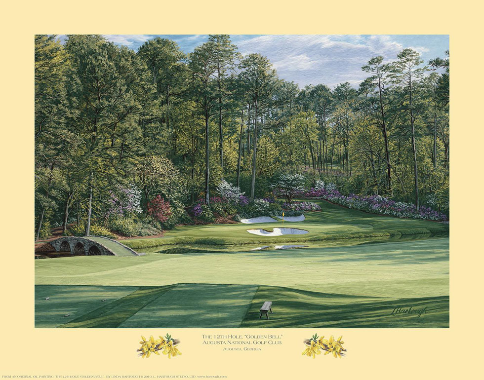 12th Hole, 'Golden Bell', Augusta National Golf Club - Open Edition