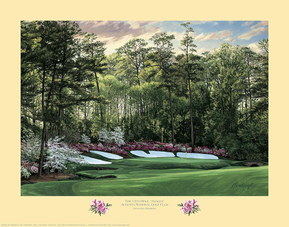 13th Hole, 'Azalea', Augusta National Golf Club - Open Edition