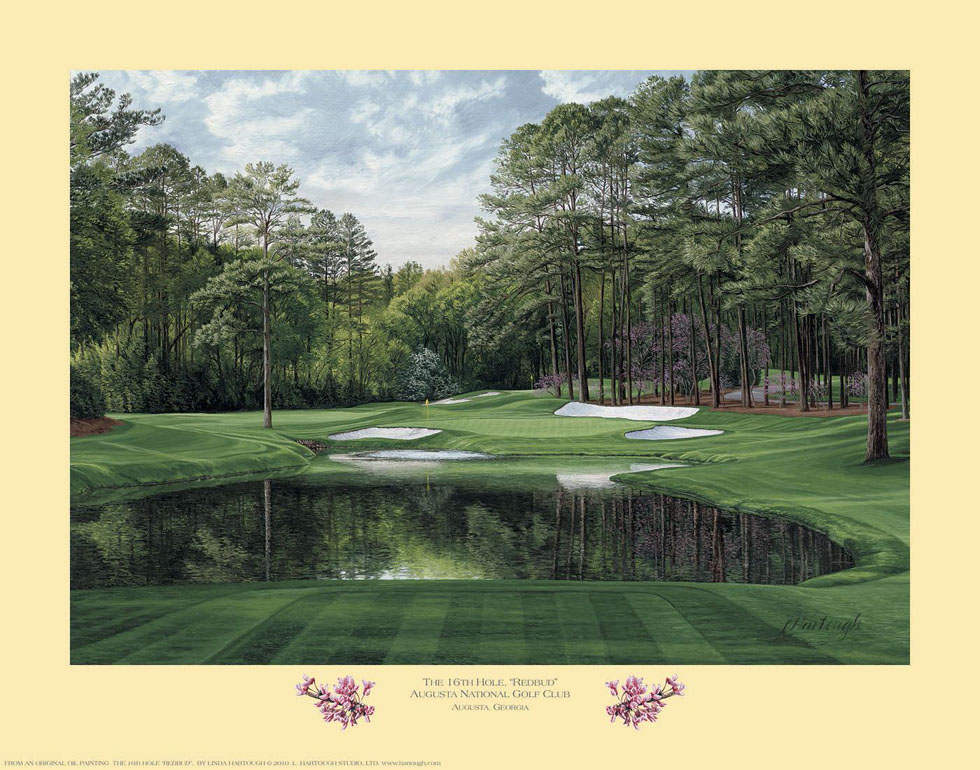 16th Hole, 'Redbud', Augusta National Golf Club - Open Edition