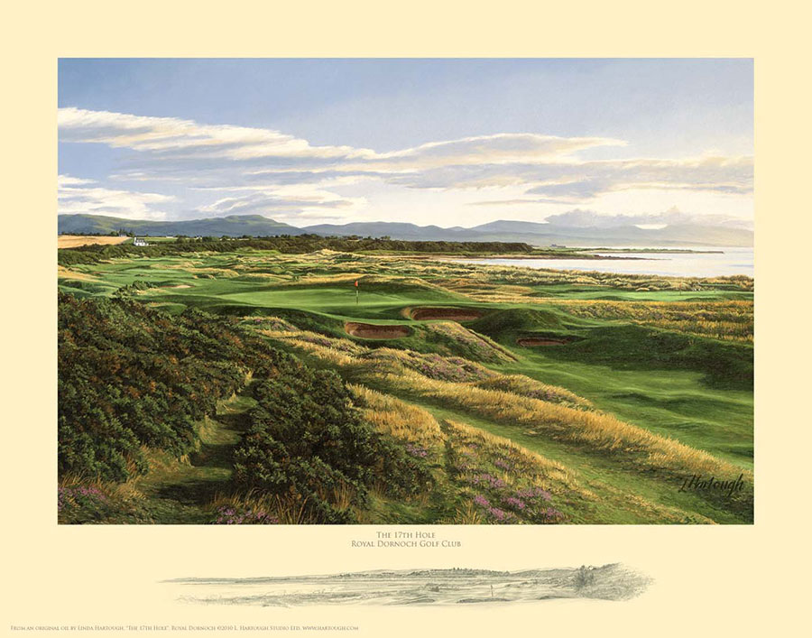 17th Hole Royal Dornoch - Open Edition