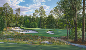 9th Hole, Pinehurst No. 2 – 2014 U.S. Open Championship and U.S. Open Women's Championship