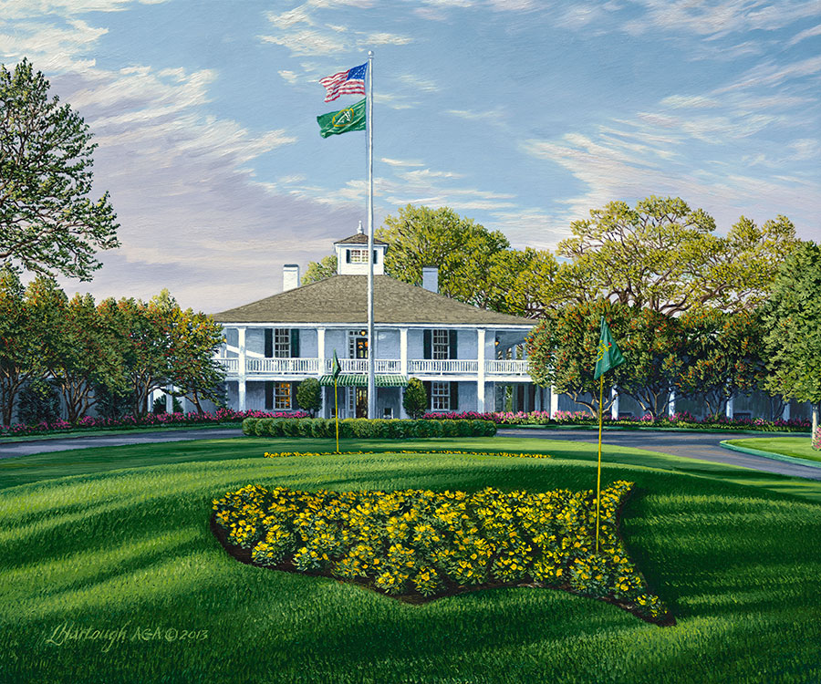 Augusta National Clubhouse 2014